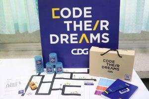cdg group ผู้ริเริ่มโครงการ Code Their Dreams เพื่อให้ความรู้ด้านการเขียนโปรแกรมคอมพิวเตอร์เบื้องต้น